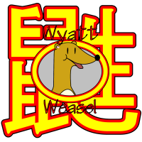 'Wyatt Weasel'/Weasel Chinese Ideograph